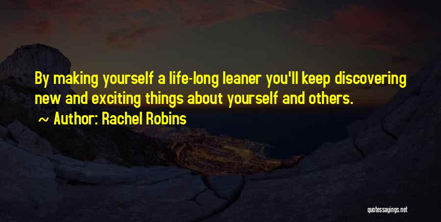 Discovering Self Quotes By Rachel Robins
