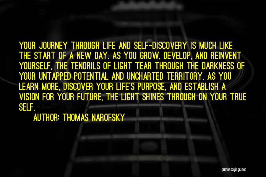 Discovering Self Quotes By Thomas Narofsky