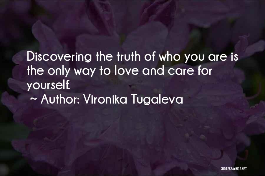 Discovering Self Quotes By Vironika Tugaleva