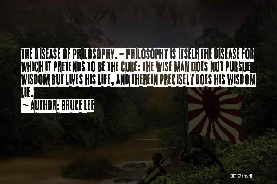 Disease Cure Quotes By Bruce Lee