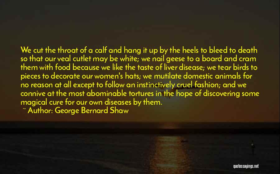 Disease Cure Quotes By George Bernard Shaw