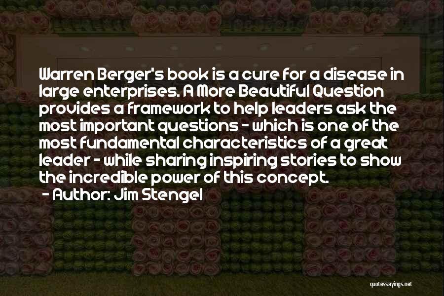 Disease Cure Quotes By Jim Stengel