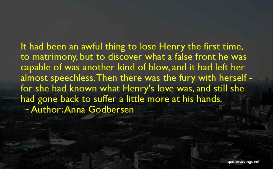 Disillusionment In Love Quotes By Anna Godbersen