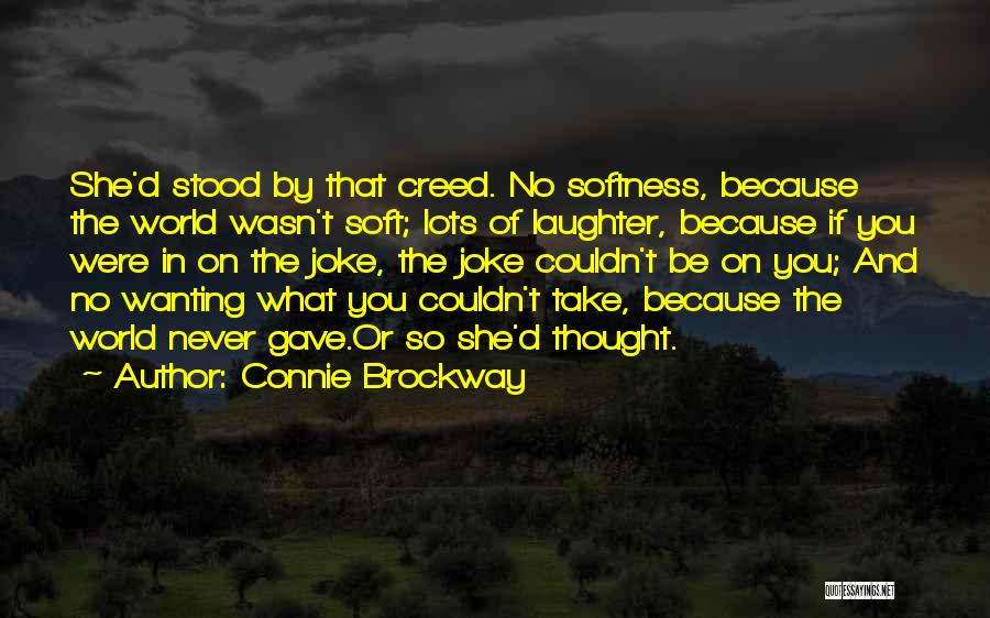 Disillusionment In Love Quotes By Connie Brockway