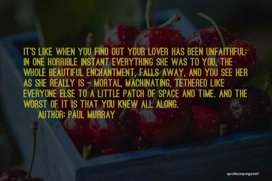 Disillusionment In Love Quotes By Paul Murray