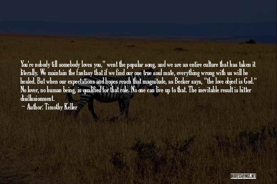 Disillusionment In Love Quotes By Timothy Keller