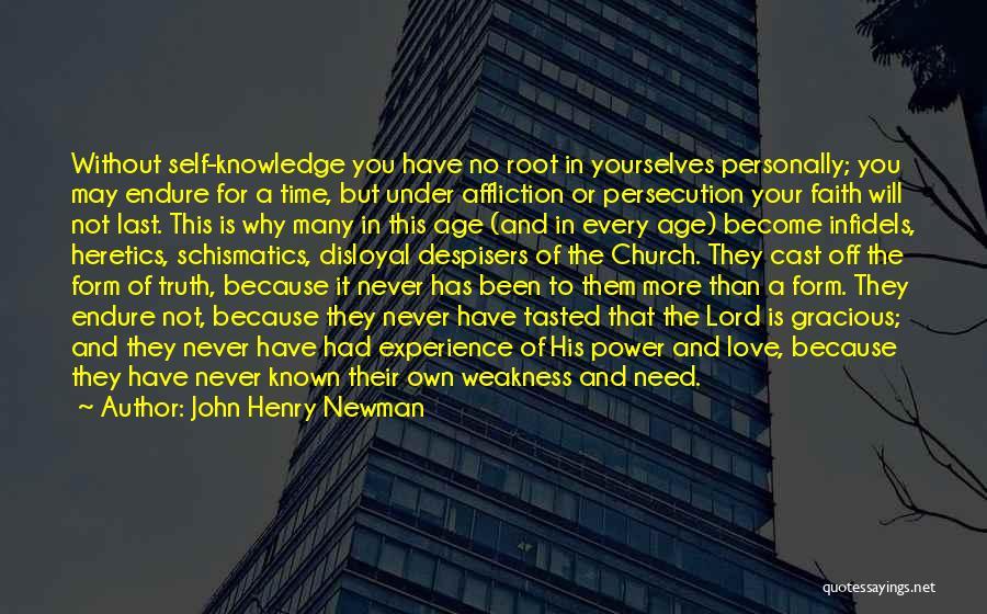 Disloyal Quotes By John Henry Newman