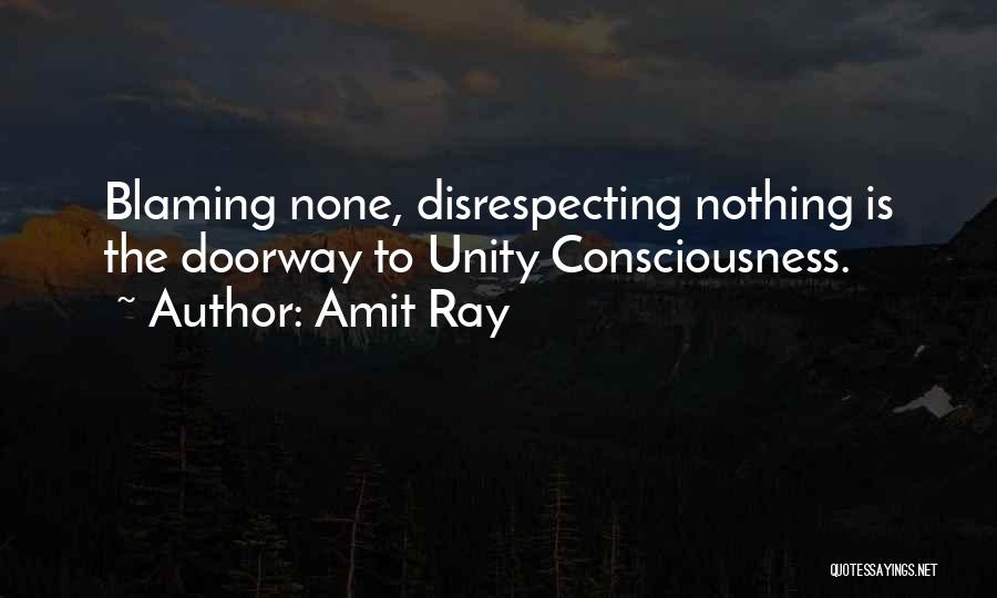 Disrespecting Quotes By Amit Ray