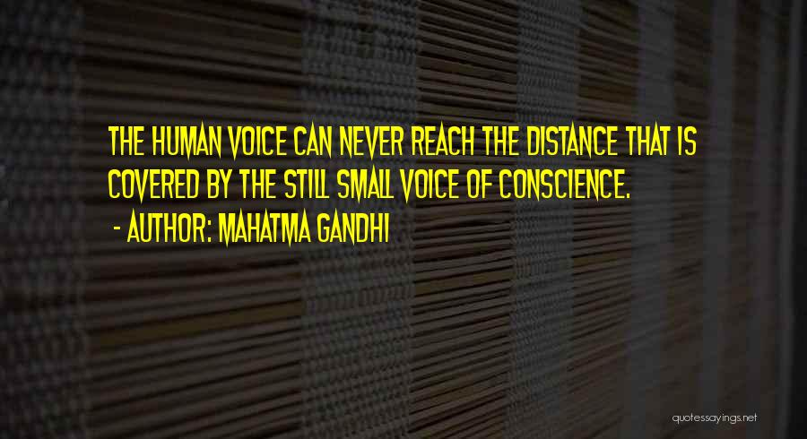 Distance Covered Quotes By Mahatma Gandhi
