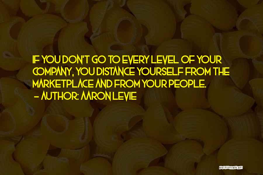 Distance Yourself Quotes By Aaron Levie
