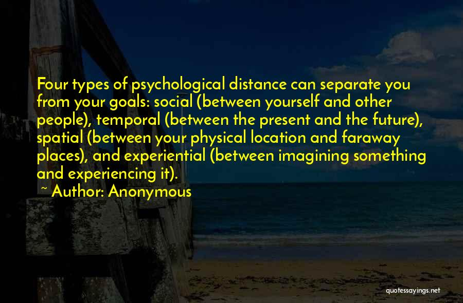 Distance Yourself Quotes By Anonymous