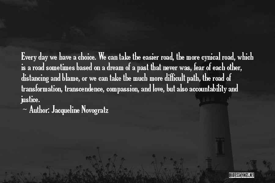 Distancing Self Quotes By Jacqueline Novogratz