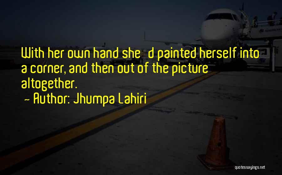 Distancing Self Quotes By Jhumpa Lahiri