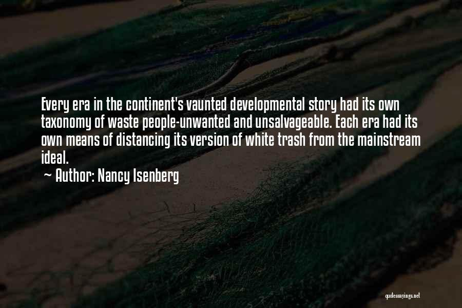 Distancing Self Quotes By Nancy Isenberg