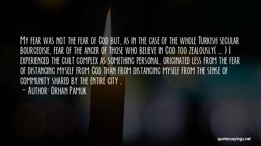 Distancing Self Quotes By Orhan Pamuk