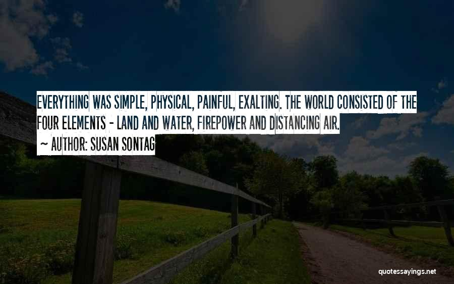 Distancing Self Quotes By Susan Sontag