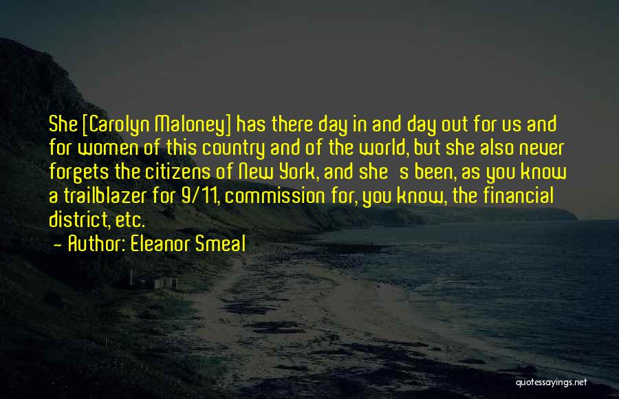 District 11 Quotes By Eleanor Smeal