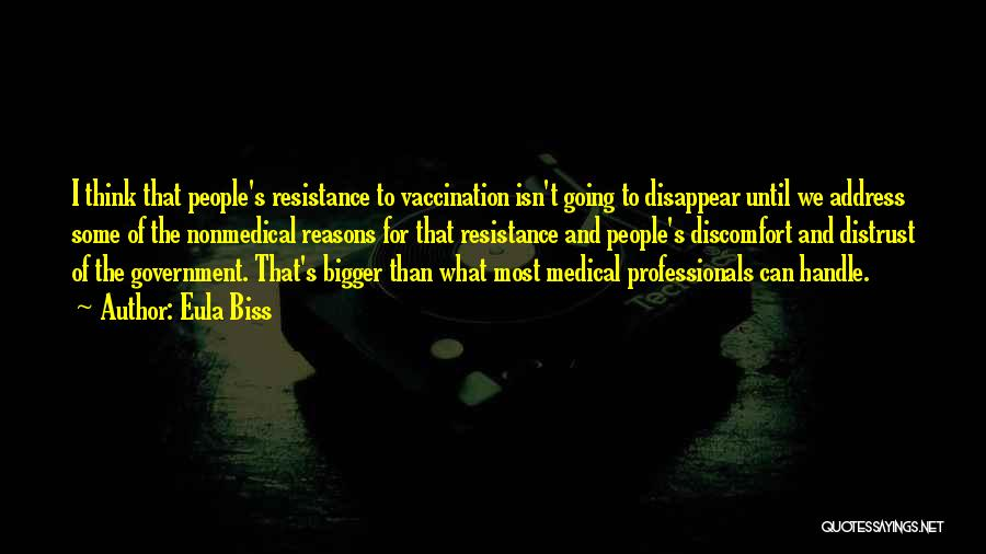 Distrust In Government Quotes By Eula Biss