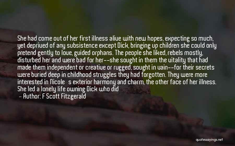 Disturbed Life Quotes By F Scott Fitzgerald
