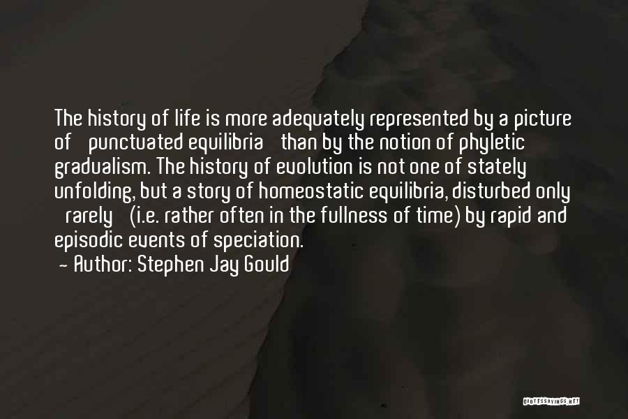Disturbed Life Quotes By Stephen Jay Gould