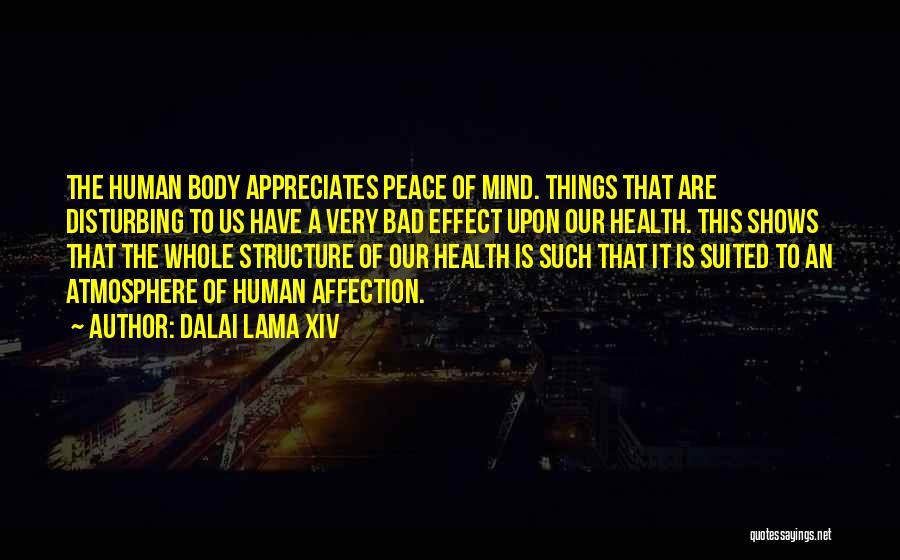 Disturbing Peace Quotes By Dalai Lama XIV
