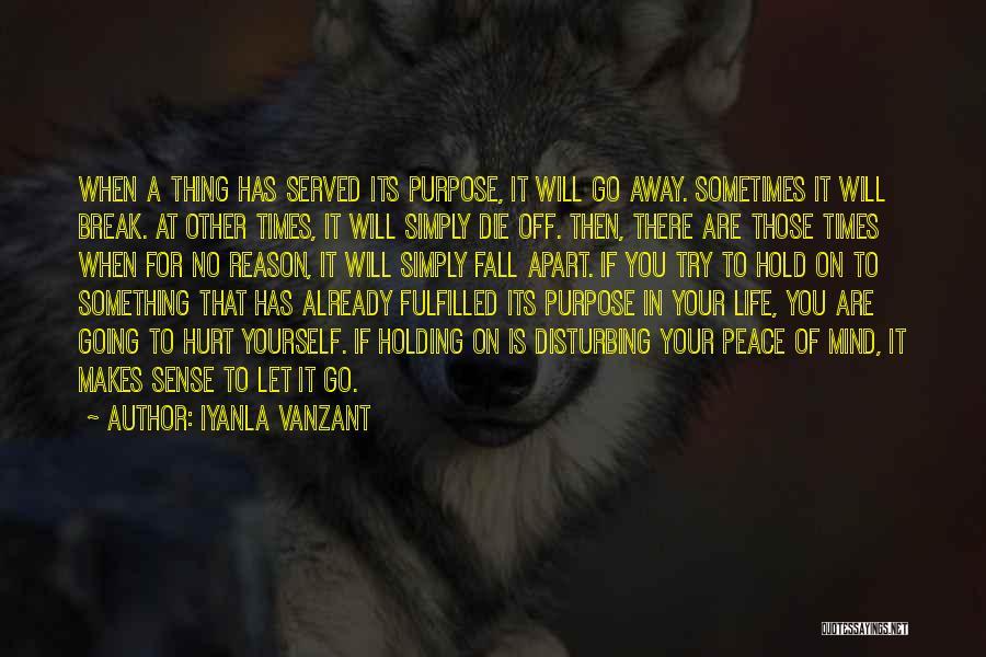 Disturbing Peace Quotes By Iyanla Vanzant