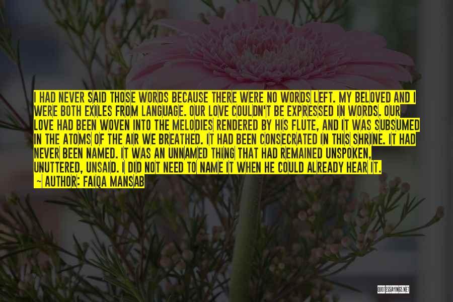 Diverse Language Quotes By Faiqa Mansab