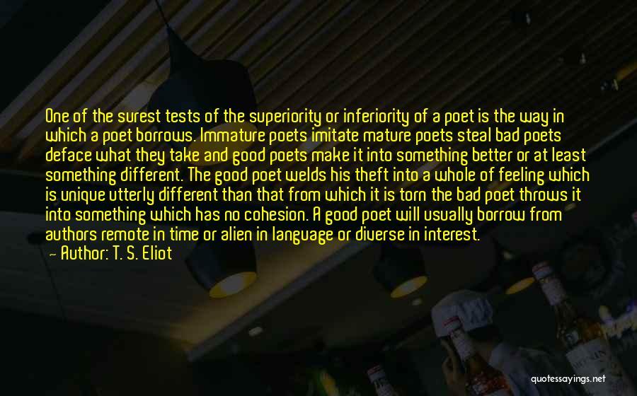 Diverse Language Quotes By T. S. Eliot