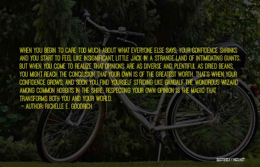 Diverse Opinions Quotes By Richelle E. Goodrich