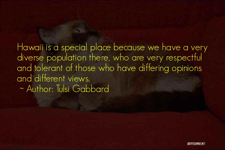 Diverse Opinions Quotes By Tulsi Gabbard