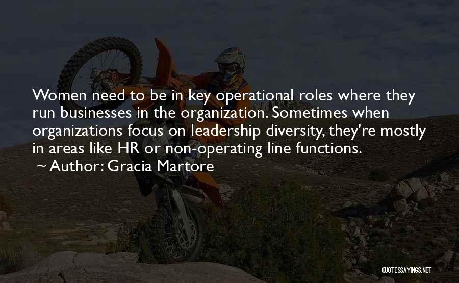 Diversity In Organizations Quotes By Gracia Martore