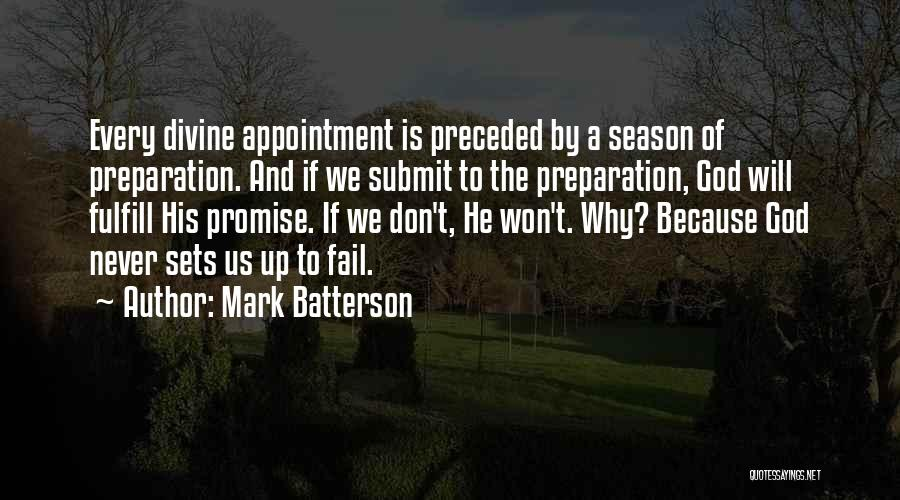 Divine Appointment Quotes By Mark Batterson