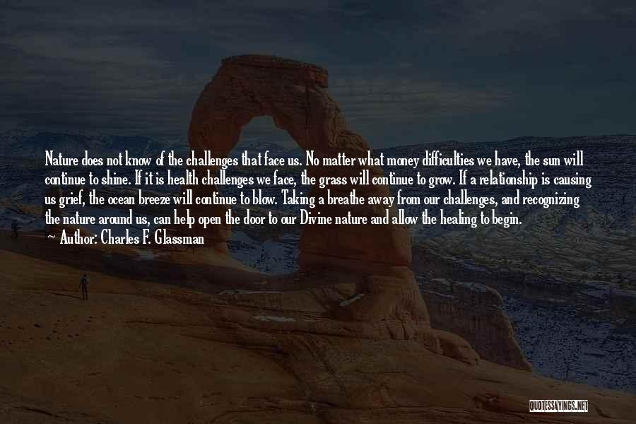 Divine Healing Quotes By Charles F. Glassman