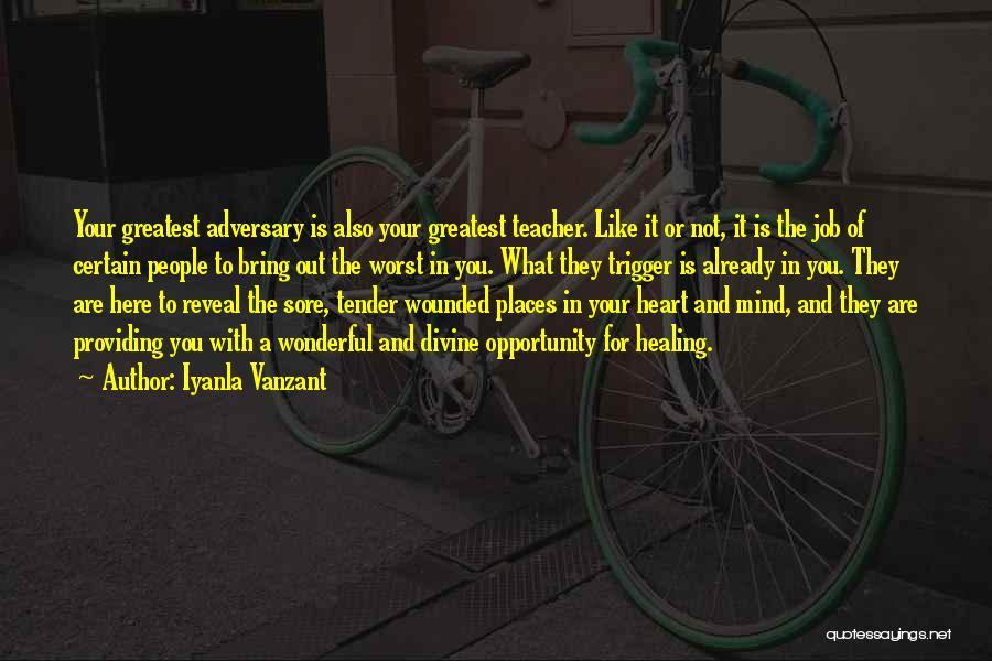 Divine Healing Quotes By Iyanla Vanzant