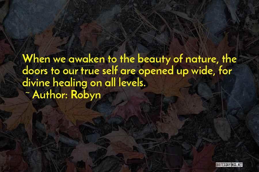 Divine Healing Quotes By Robyn