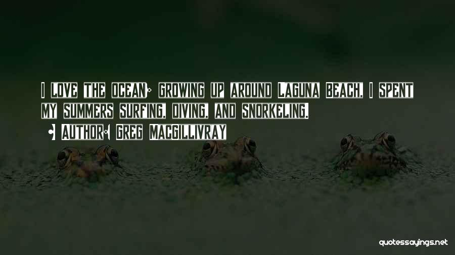 Diving In The Ocean Quotes By Greg MacGillivray