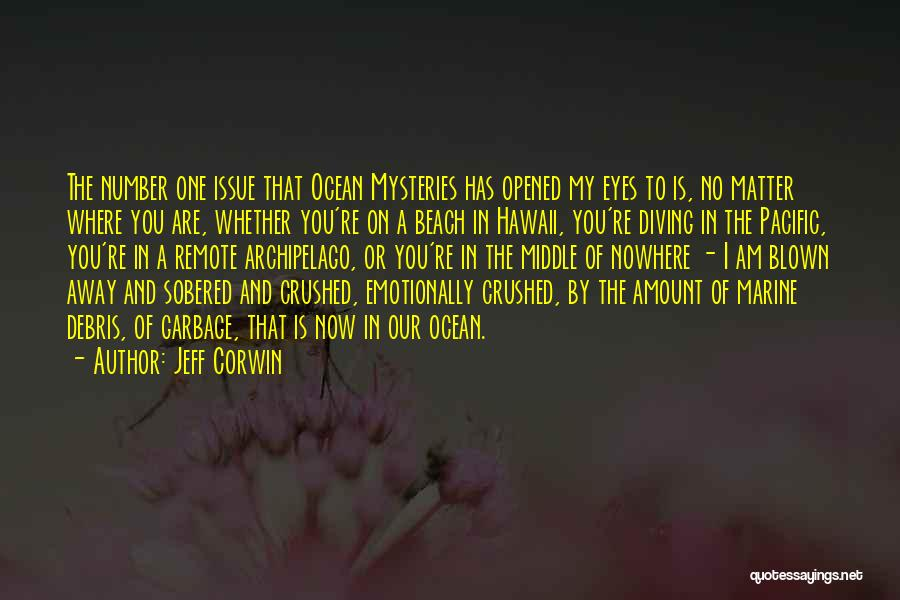 Diving In The Ocean Quotes By Jeff Corwin