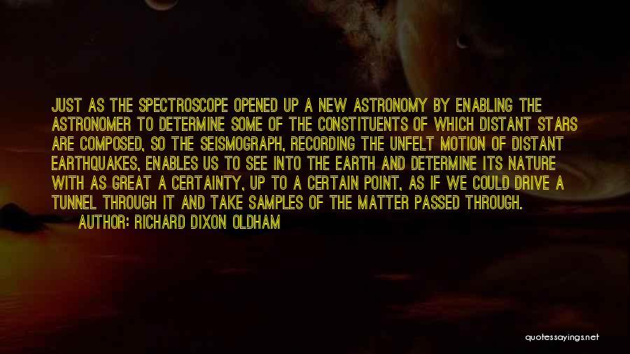 Dixon Quotes By Richard Dixon Oldham