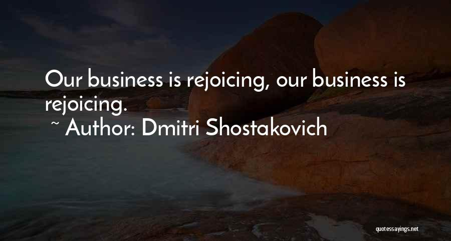 Dmitri Shostakovich Quotes 110814