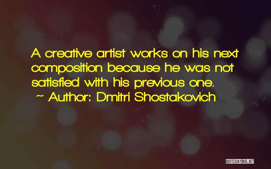 Dmitri Shostakovich Quotes 113115