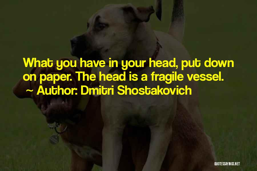 Dmitri Shostakovich Quotes 1398215