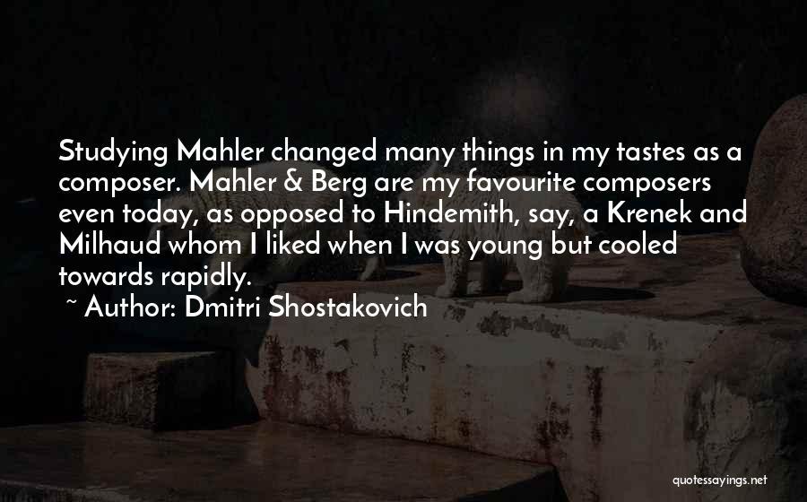 Dmitri Shostakovich Quotes 1652888