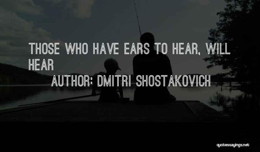 Dmitri Shostakovich Quotes 2159420