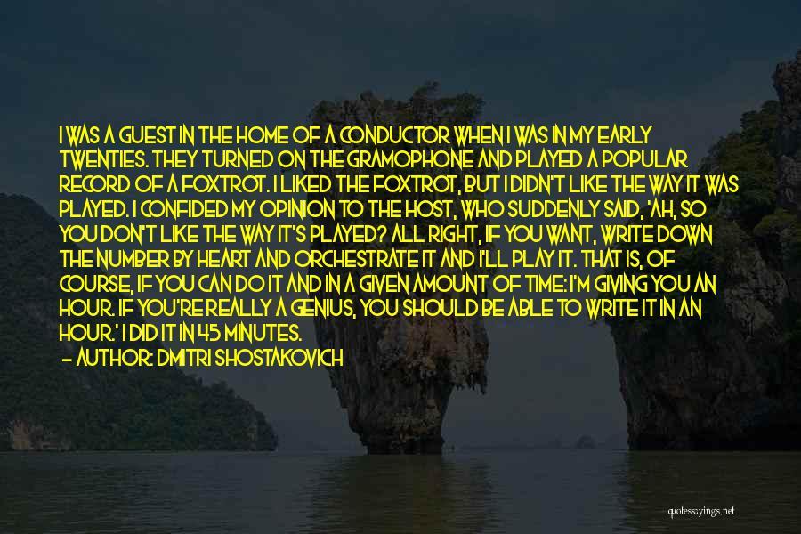 Dmitri Shostakovich Quotes 255105