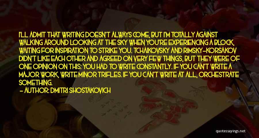 Dmitri Shostakovich Quotes 433157
