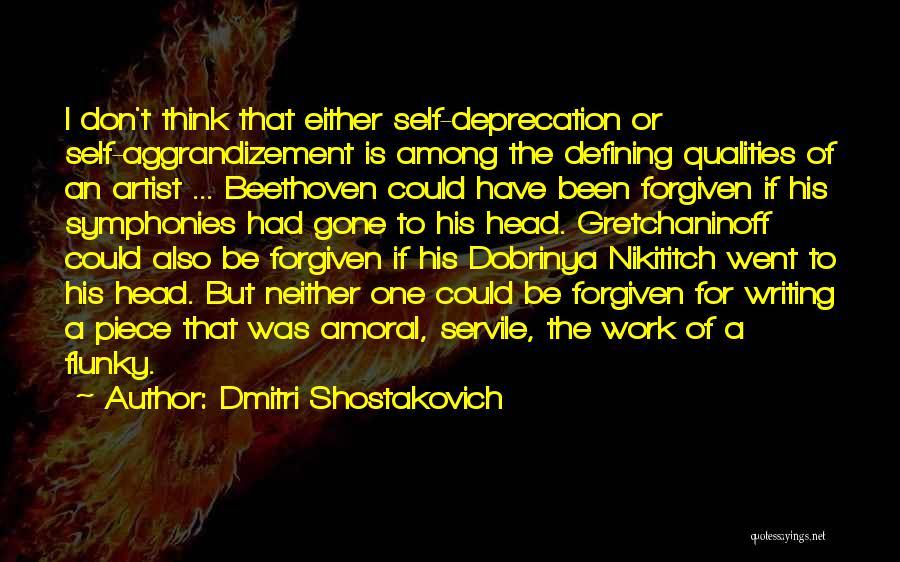 Dmitri Shostakovich Quotes 506575