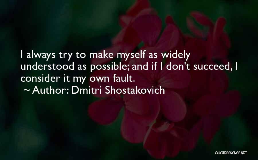 Dmitri Shostakovich Quotes 619220