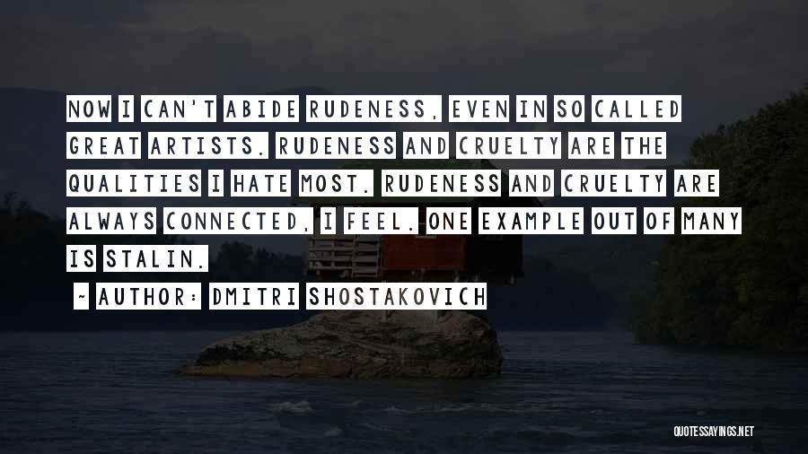Dmitri Shostakovich Quotes 917738