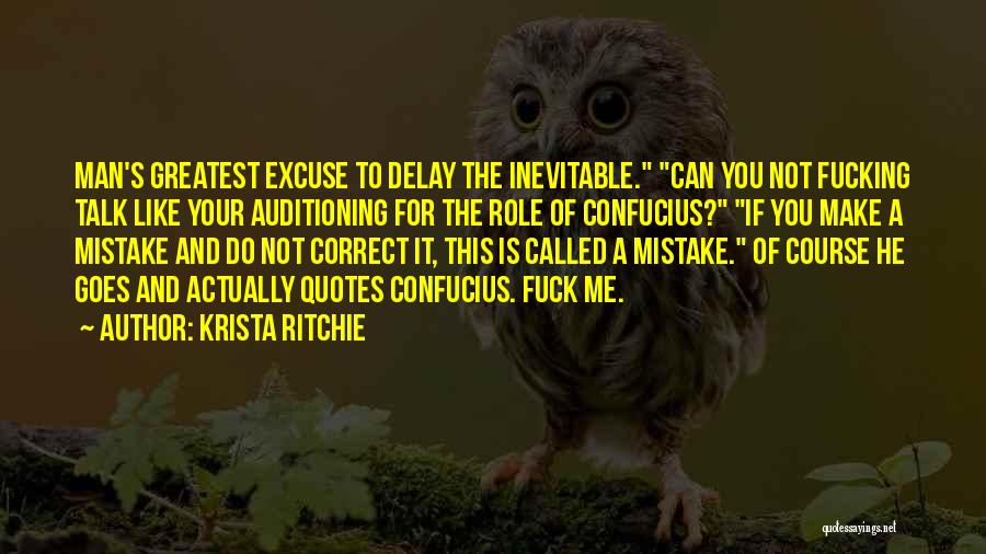 Do Not Delay Quotes By Krista Ritchie