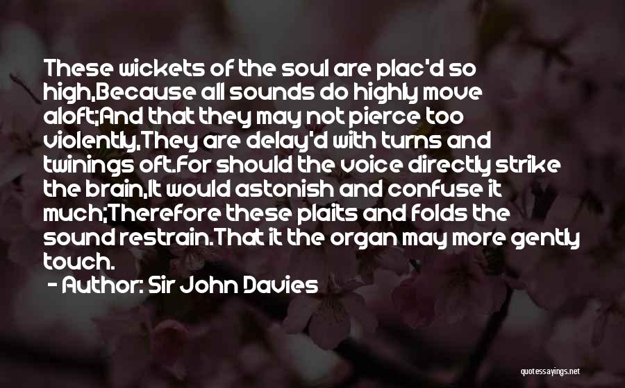 Do Not Delay Quotes By Sir John Davies